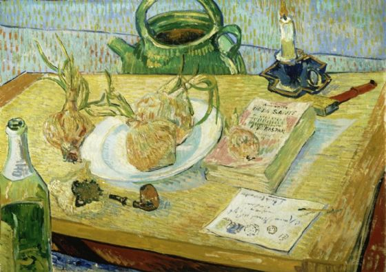 Van Gogh, Vincent: Still Life with Onions. Fine Art Print/Poster. Sizes: A4/A3/A2/A1 (001770)